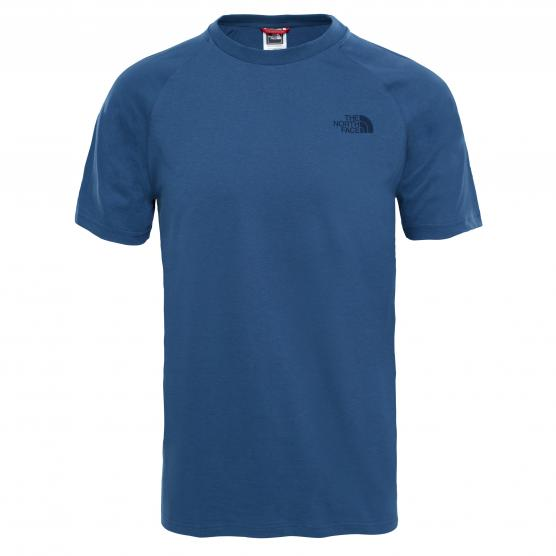 THE NORTH FACE M S/S TEE BLUE WING TEAL