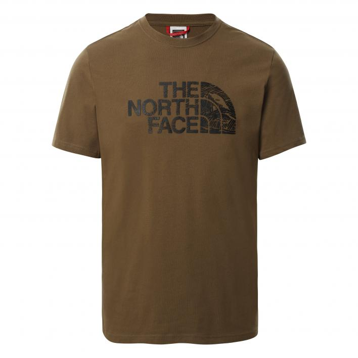 THE NORTH FACE M S/S WOOD DOME TEE