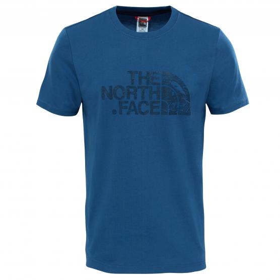 THE NORTH FACE M SS WOODCU DOME TEE SHADY BLUE