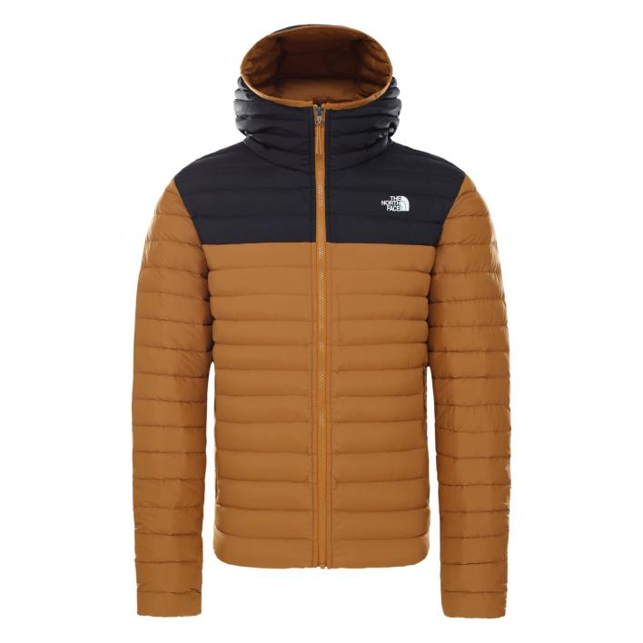 THE NORTH FACE M STRCH DWN HDIE TIMBRTAN/TNFBLK