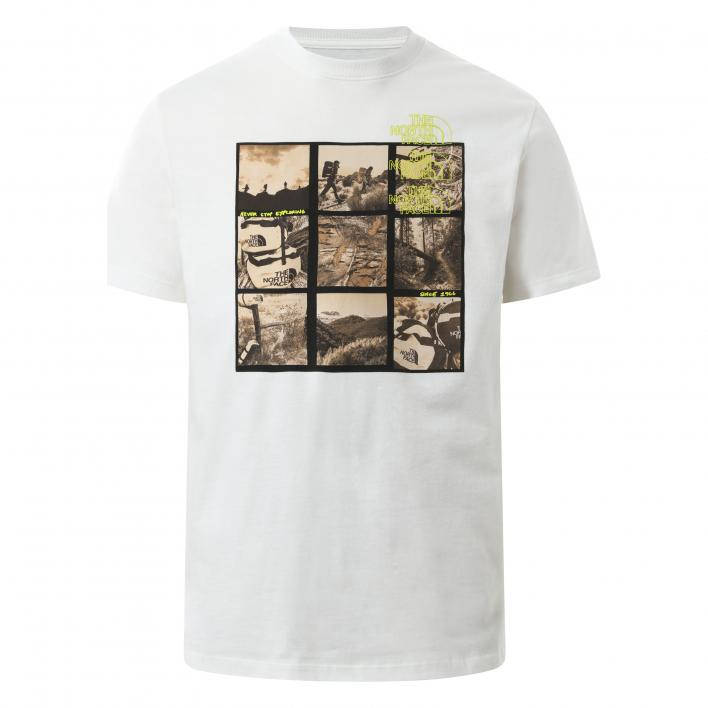 THE NORTH FACE MEN'S BASE FALL GRAPHIC S/S TEE
