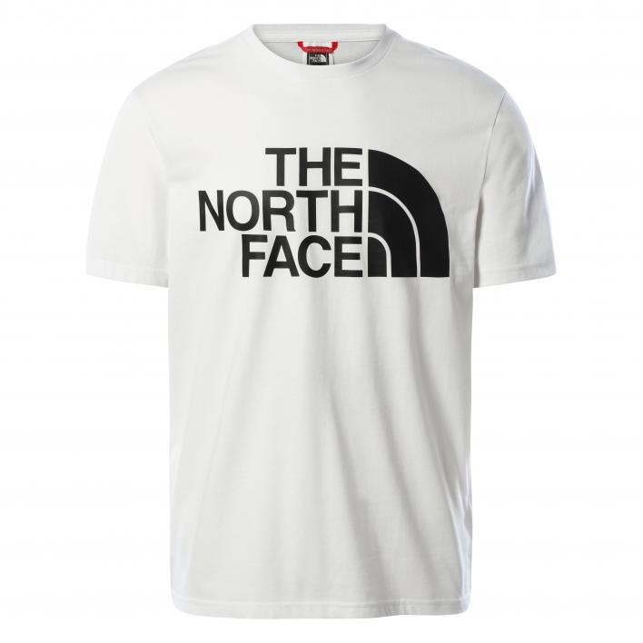 THE NORTH FACE MEN'S STANDARD SS TEE WHITE