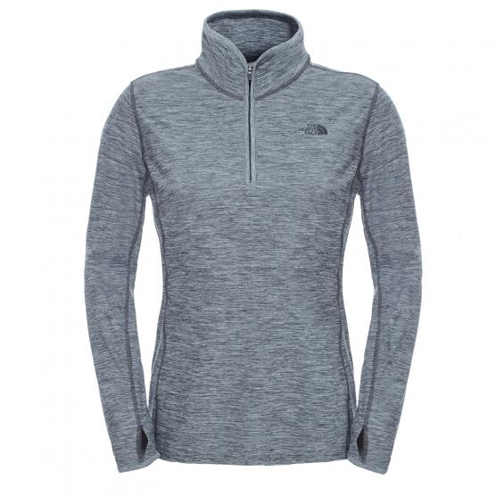 THE NORTH FACE MOUNTAIN ATHL. W MOTIVATION 1/4 ZIP TNF DRK GRY HT