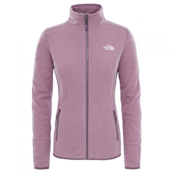 THE NORTH FACE  TNF W 100 GLACIER FULL ZIP