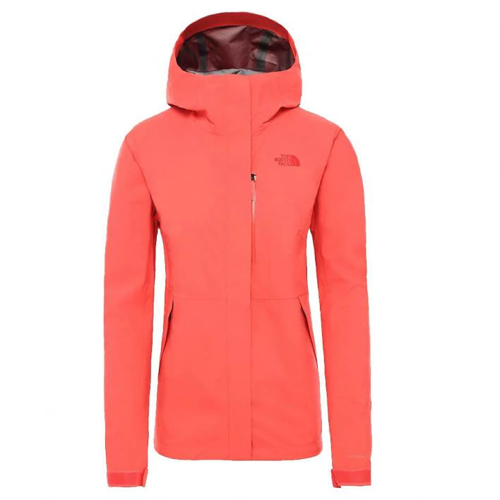 THE NORTH FACE W DRYZZLE FUTURELIGHT JKT CAYENNE R