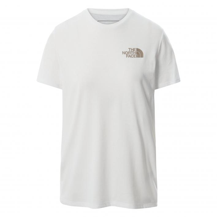 THE NORTH FACE W FOUNDATION GRP TEE TNF WHITE