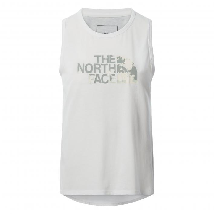 THE NORTH FACE W FOUNDATION GRP TNK TNF WHITE