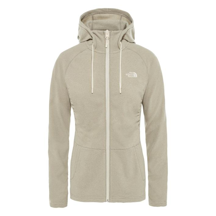 THE NORTH FACE W MEZZALUNA FLL ZP H SILT GRY S
