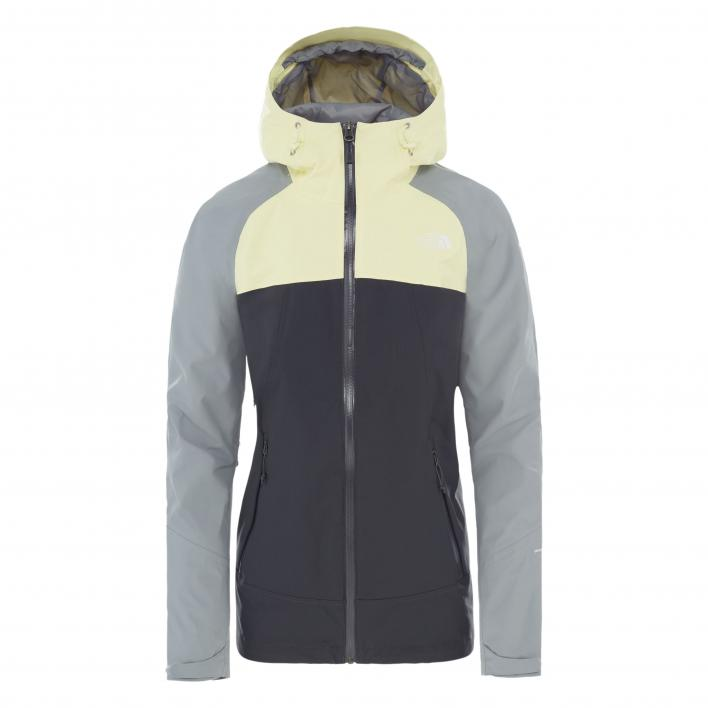THE NORTH FACE W STRATOS JACKET ASPGY/MDGY/TNDY