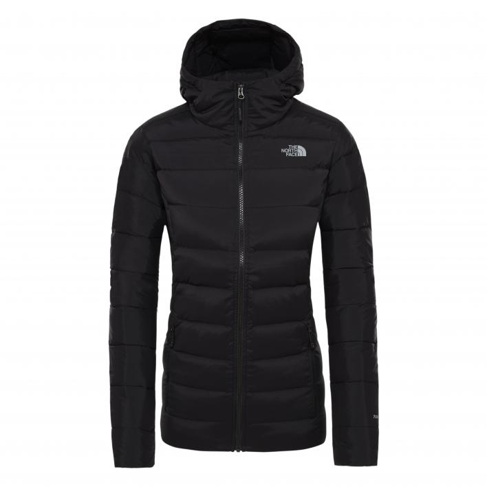 THE NORTH FACE W STRETCH DOWN HOODIE