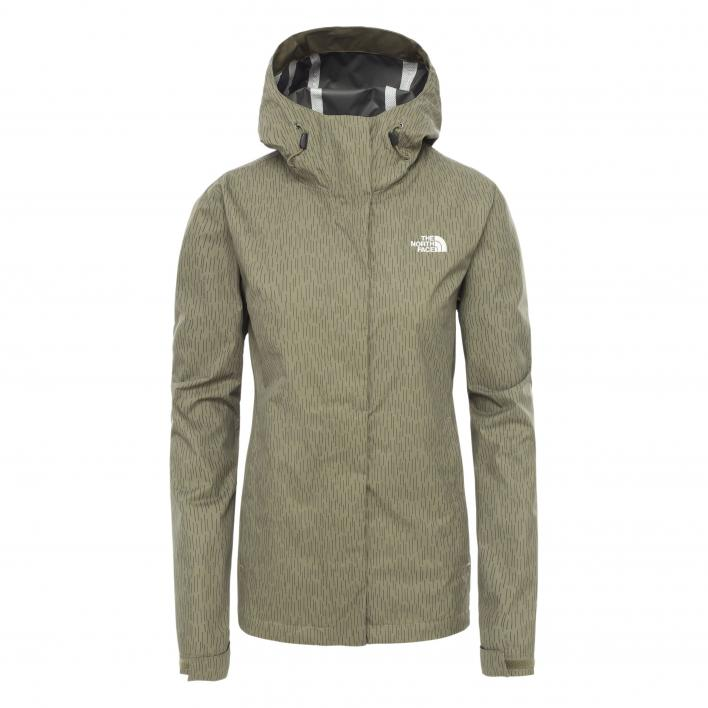 THE NORTH FACE W VENTURE 2 JACKET BRNTOIVGNRNC