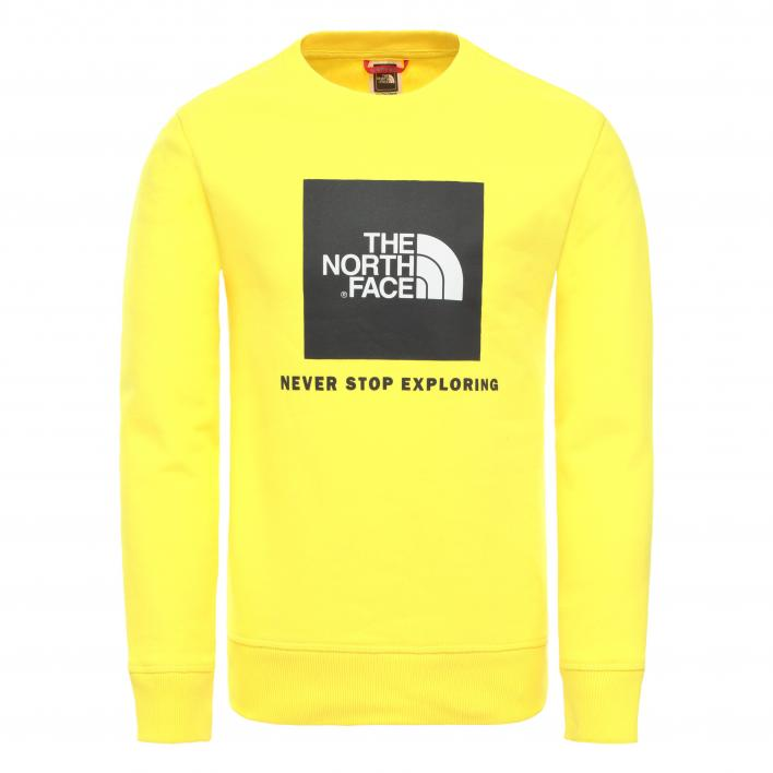 THE NORTH FACE Y BOX CREW TNF LEMON