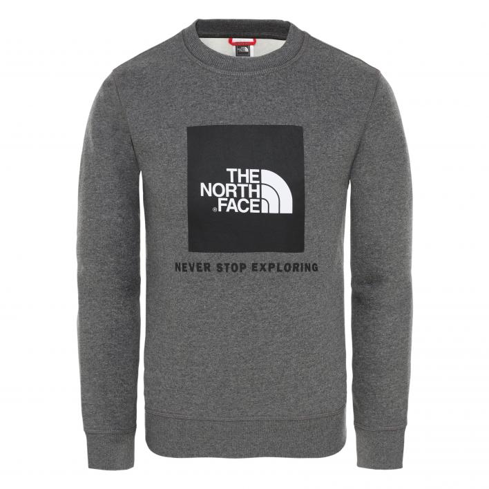 THE NORTH FACE Y BOX CREW TNFMDGYHTR