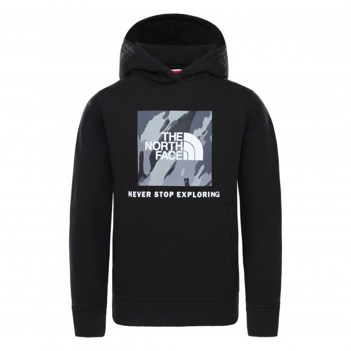 THE NORTH FACE YOUTH NEW BOX CREW P/O HOODIE