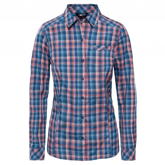 THE NORTH FACE  ZION SHIRT SUNBAKED RED
