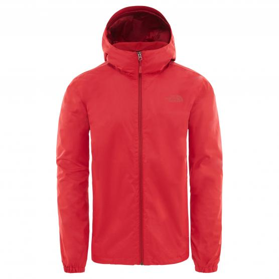 THE NORTHJ FACE M QUEST JACKET TNF RED HEATHER