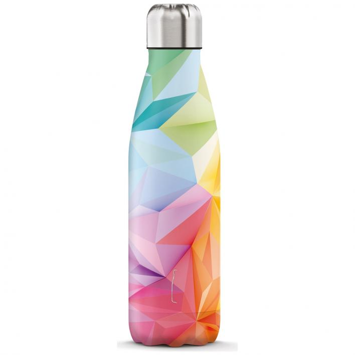 THE STEEL BOTTLES GEOMETRIC COLOR