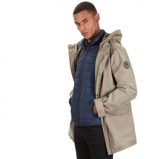 TIMBERLAND 3 IN 1 FISHTAIL PARKA