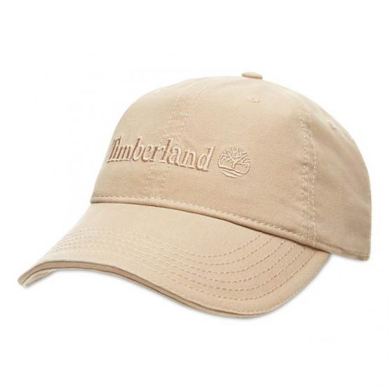 TIMBERLAND COTTON CANVAS CAP