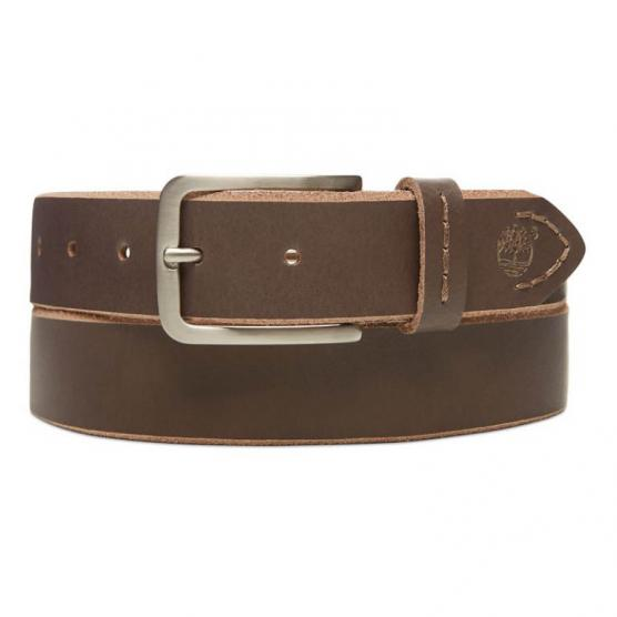 TIMBERLAND COW LEATHER BELT FLINT