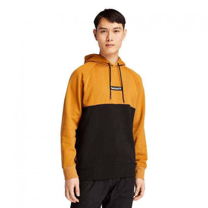 TIMBERLAND CUT AND SEW HOODIE