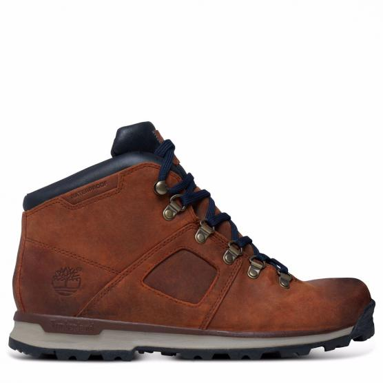 TIMBERLAND GT SCRAMBLE MID LEATHER BROWN