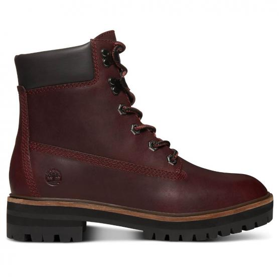 TIMBERLAND LONDON SQUARE BURGUNDY FULL-GRAIN