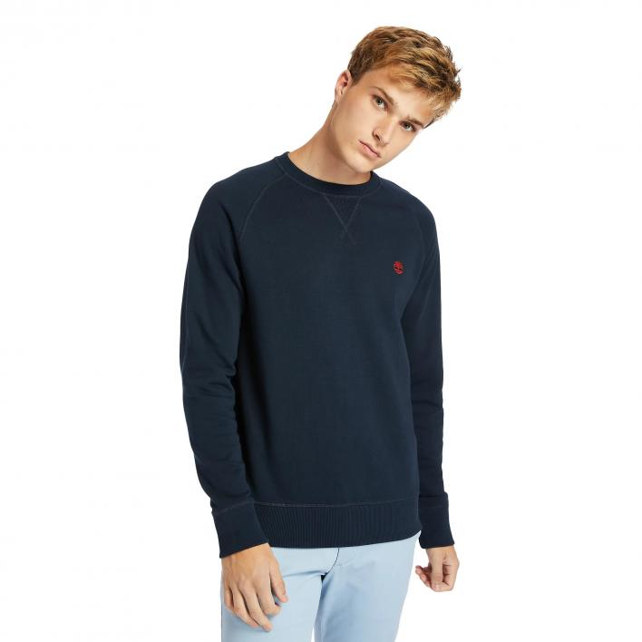 TIMBERLAND LS EXETER RIVER BASIC LOOPACK CREW SWEAT