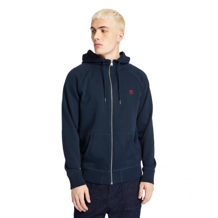 TIMBERLAND LS EXTER RIVER BASIC LOOPBACK FULL-ZIP