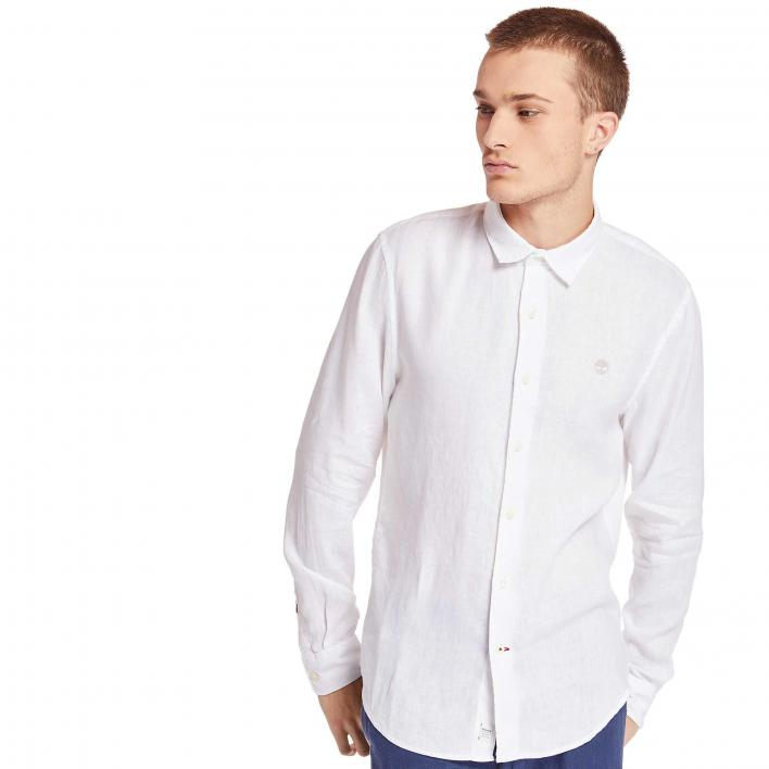 TIMBERLAND LS MILL RIVER LINEN SHIRT SLIM