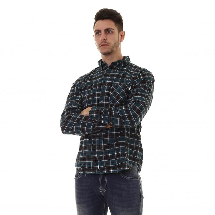 TIMBERLAND LS S/CELL CHECK SHIRT