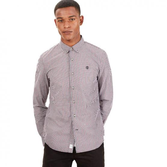 TIMBERLAND LS SUNCOOK RIVER GINGHAM CAMICIA SLIM