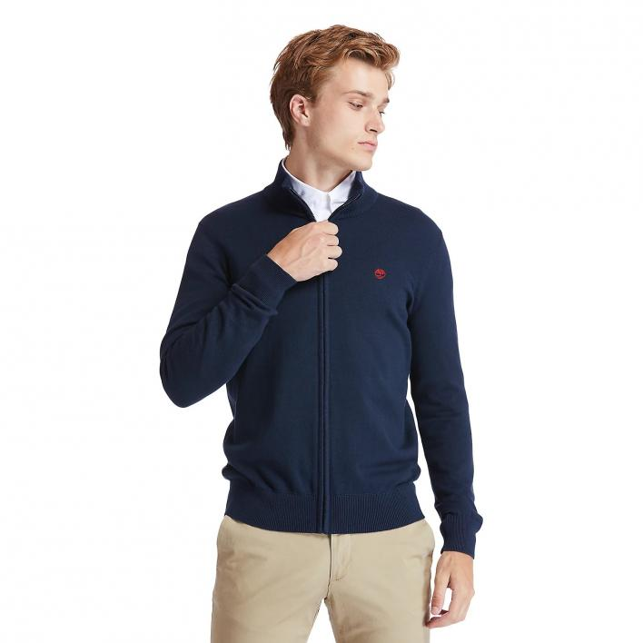 TIMBERLAND LS WILLIAMS RIVER COTTON FULL-ZIP