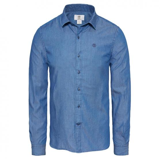PROVINCETOWN - LONG SLEEVE CHAMBRAY SHIRT UOMO