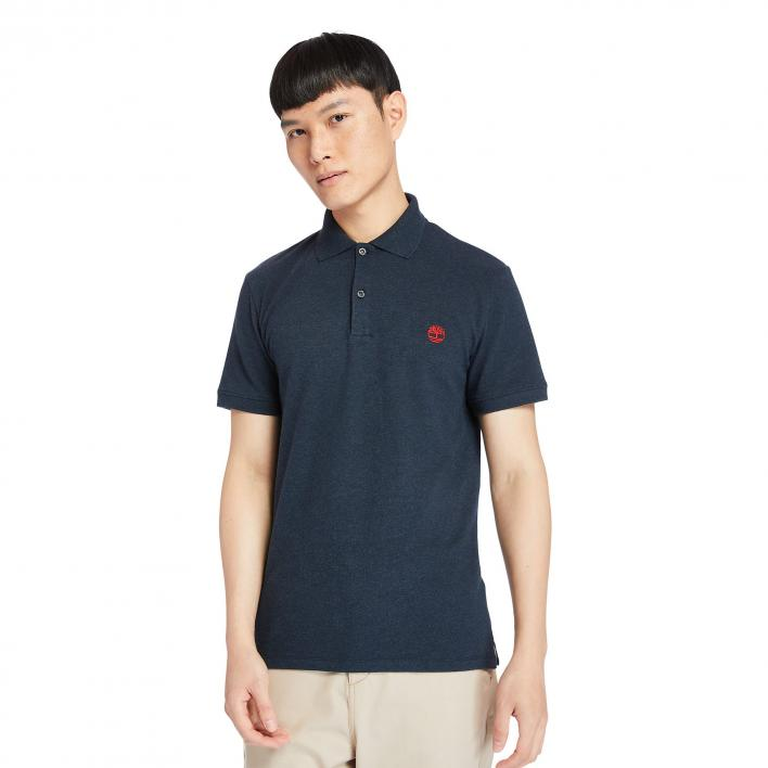 TIMBERLAND SS MERRYMEETING RIVER STRETCH POLO