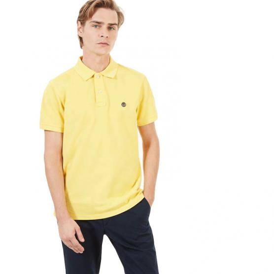 TIMBERLAND SS MILLER RIVER PIQUE SLIM POLO HABANER