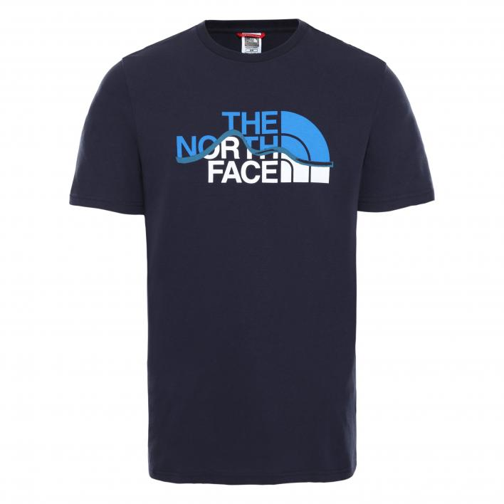TNF M S/S MOUNTAIN LINE TEE
