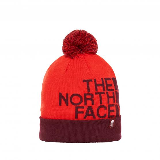 THE NORTH FACE SKI TUKE V FIERY RED/FIG