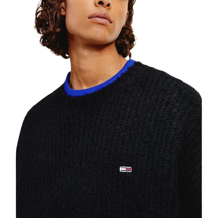TOMMY JEANS CHUNKY KNIT CREW