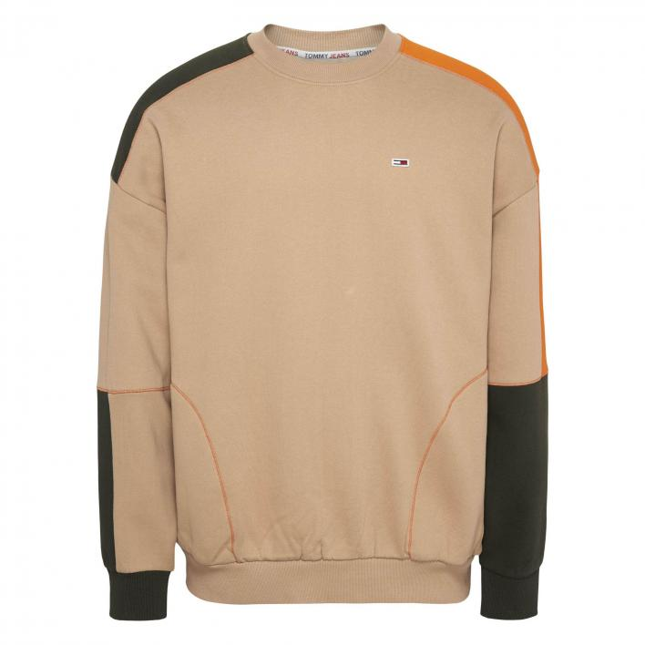 TOMMY JEANS COLORBLOCK CREW