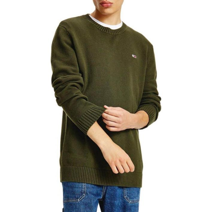 TOMMY JEANS ESSENTIAL CREW NECK SWEATER
