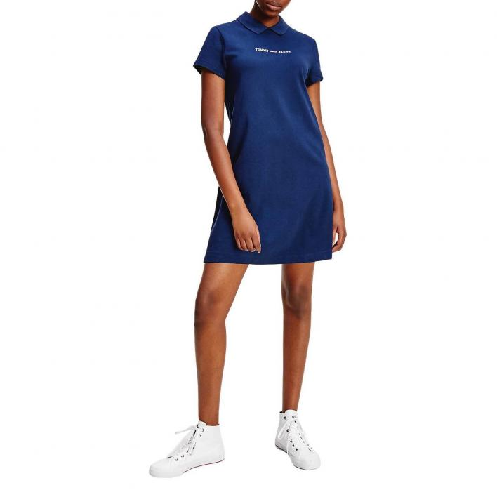 TOMMY JEANS ESSENTIAL POLO DRESS