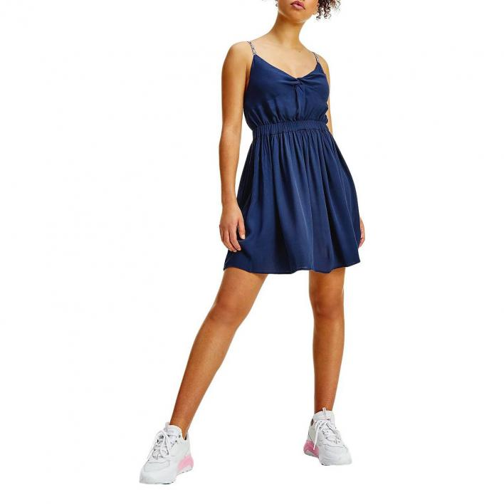 TOMMY JEANS ESSENTIAL STRAP DRESS