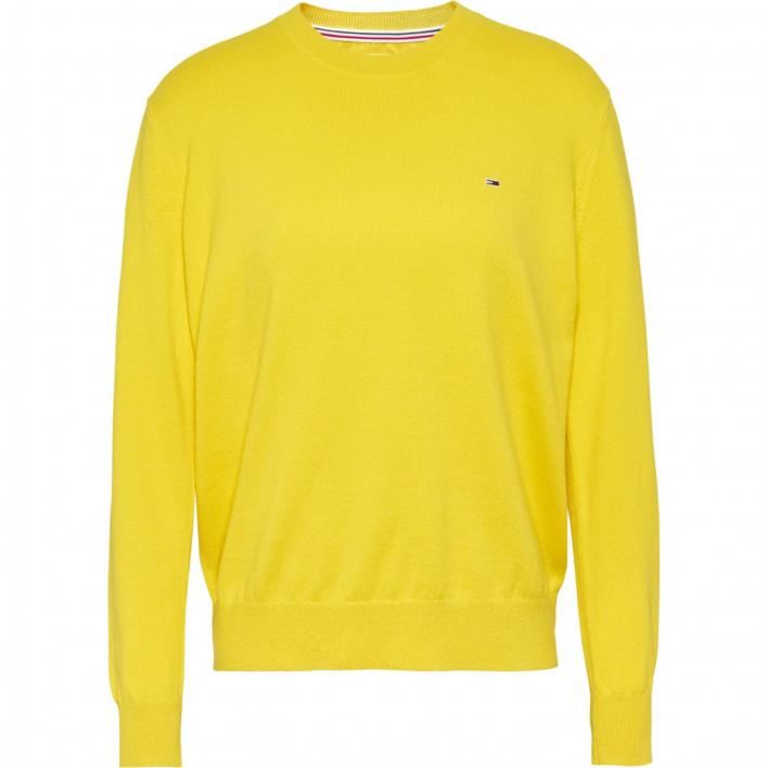 TOMMY JEANS SOFT TOUCH CREW SWEATER