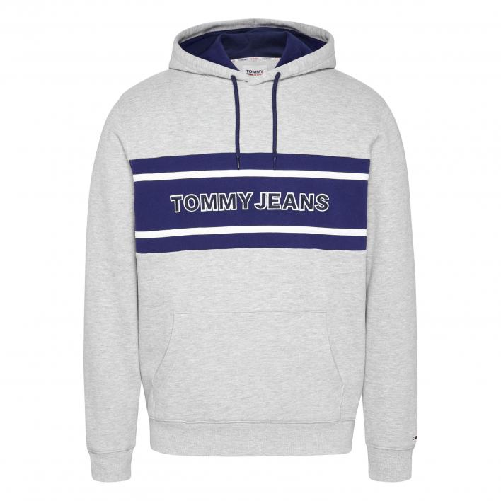 TOMMY JEANS TJM PIECED BAND LOGO HOODIE