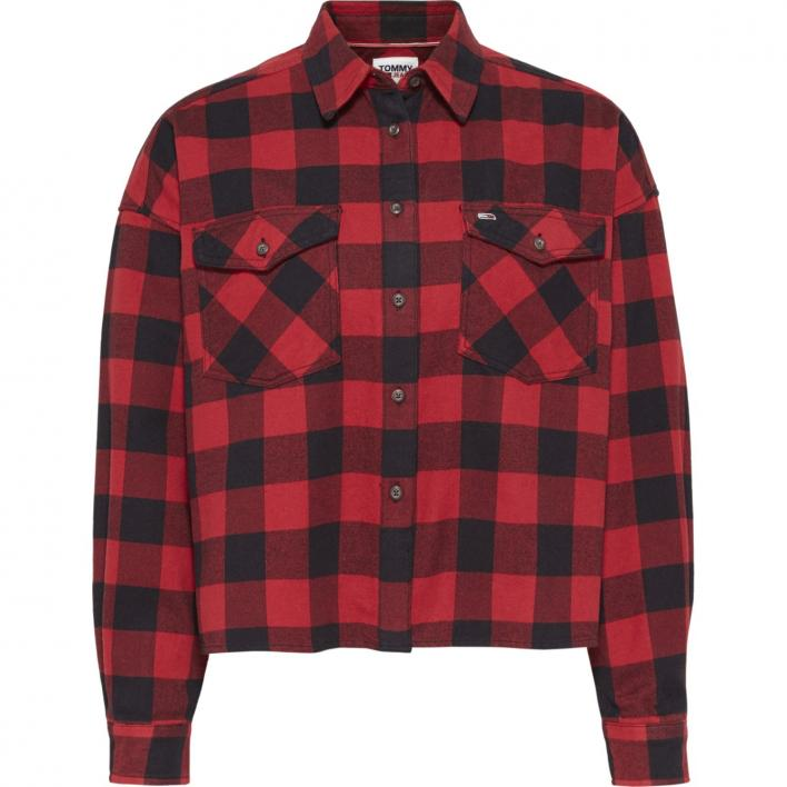 TOMMY JEANS TJW GINGHAM CHECK SHIRT