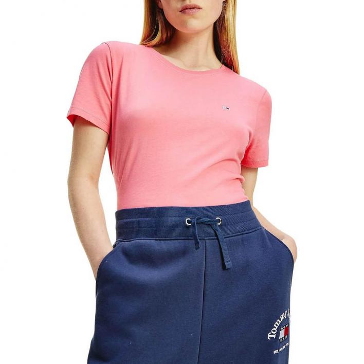 TOMMY JEANS TJW WEICHES JERSEY KURZARMHEMD