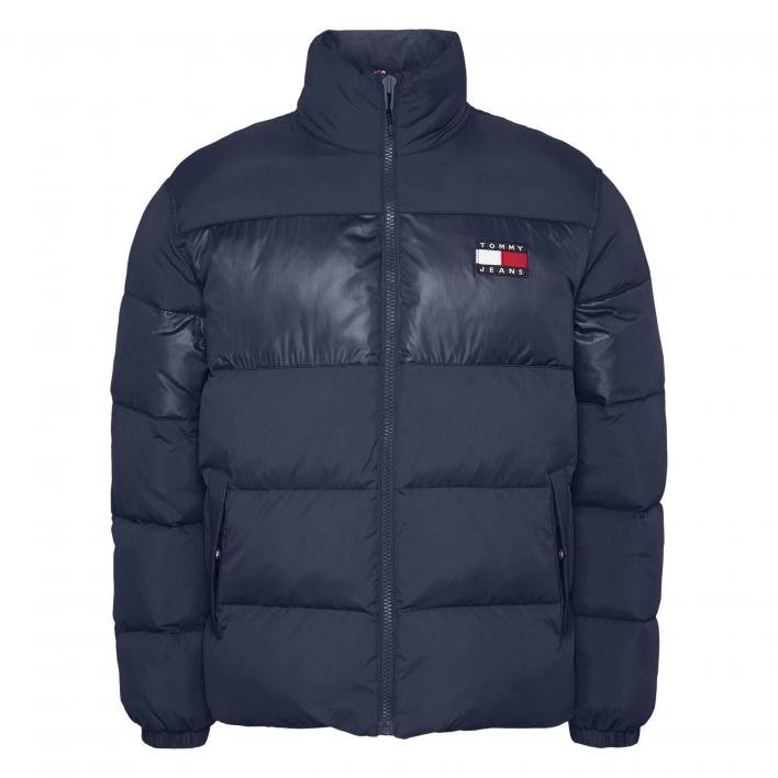 TOMMY JEANS TONAL COLORBLOCK PUFFER
