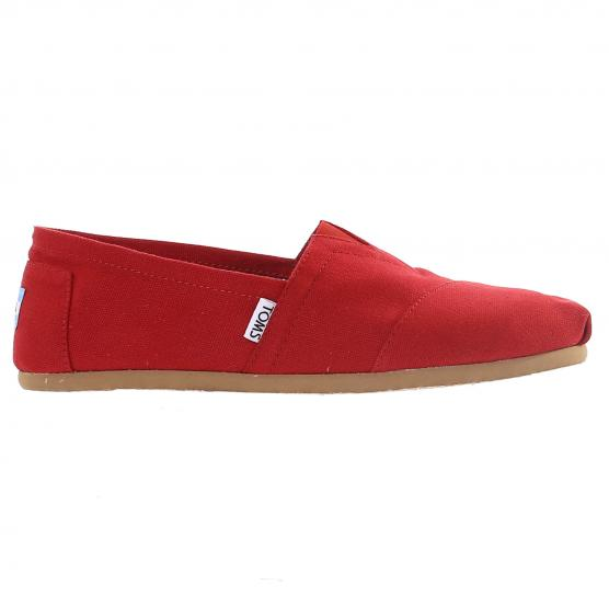 TOMS CLASSIC ALPARGATA CORE RED CANVAS