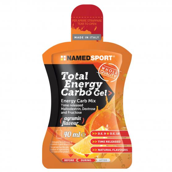 NAMEDSPORT Total Energy Carbo Gel Agrumix 40ml